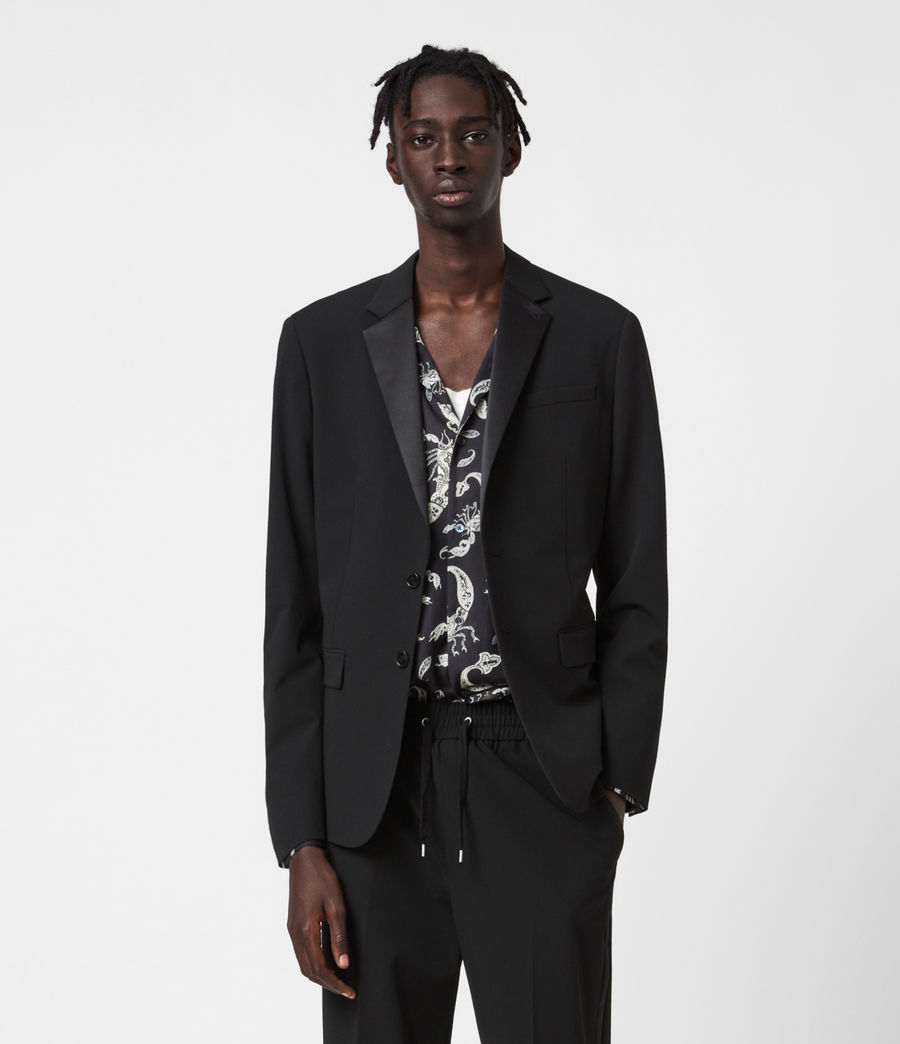 Men's Axminster Blazer (black) - Image 1