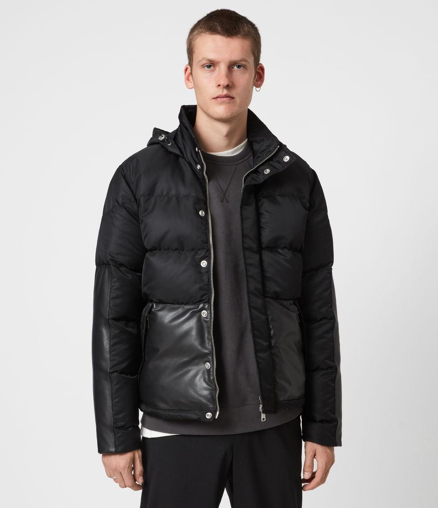 Mens Varden Puffer Coat (black) - Image 1