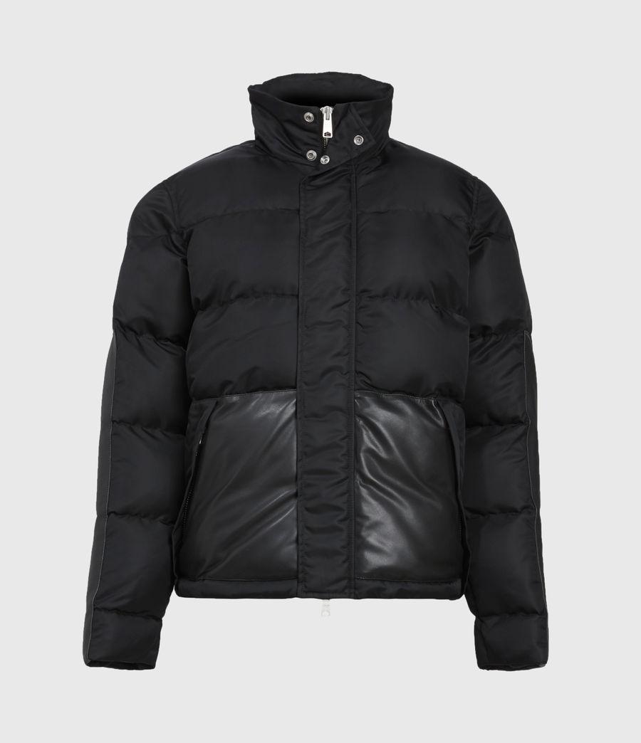 Mens Varden Puffer Coat (black) - Image 2