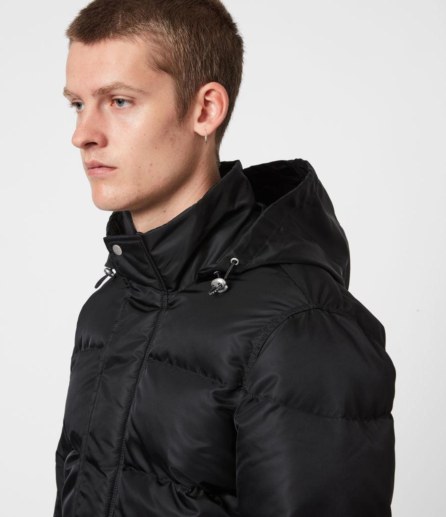 Mens Varden Puffer Coat (black) - Image 4