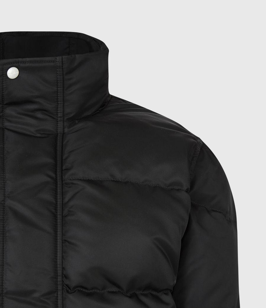 Mens Varden Puffer Coat (black) - Image 6