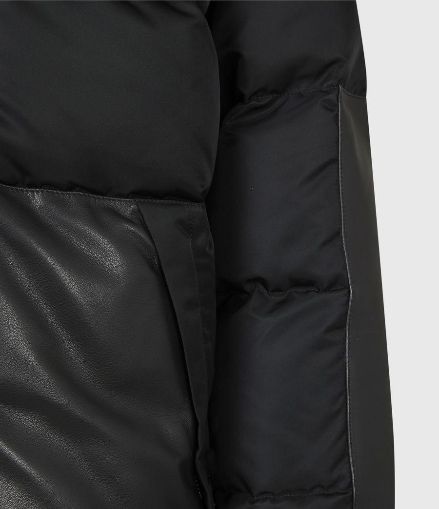 Mens Varden Puffer Coat (black) - Image 7