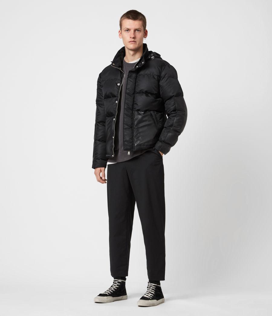 Mens Varden Puffer Coat (black) - Image 8