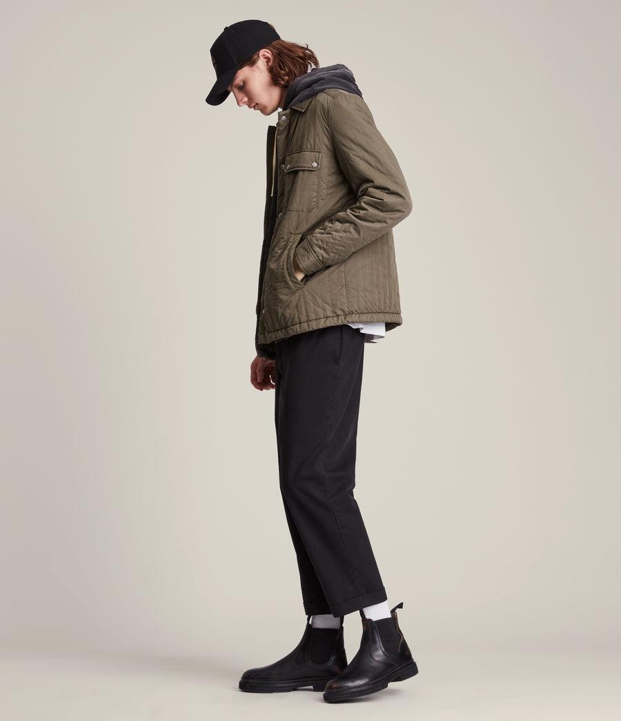 Mens Archer Jacket (dark_khaki) - Image 3