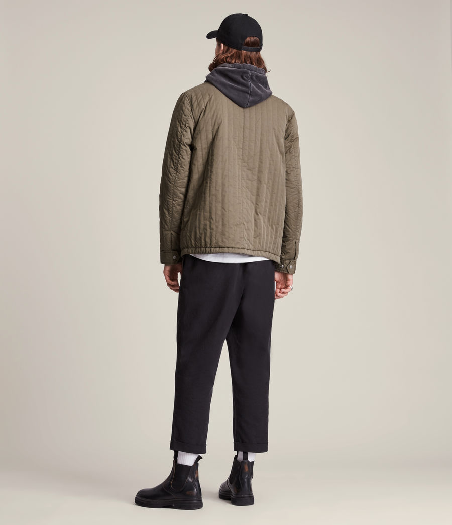 Mens Archer Jacket (dark_khaki) - Image 7