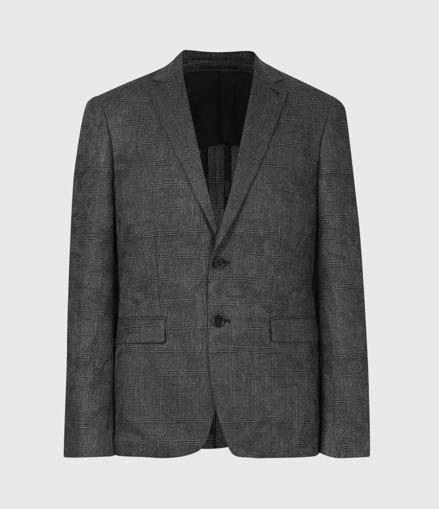 Men's Matos Wool Blend Blazer (grey_camo) - Image 2