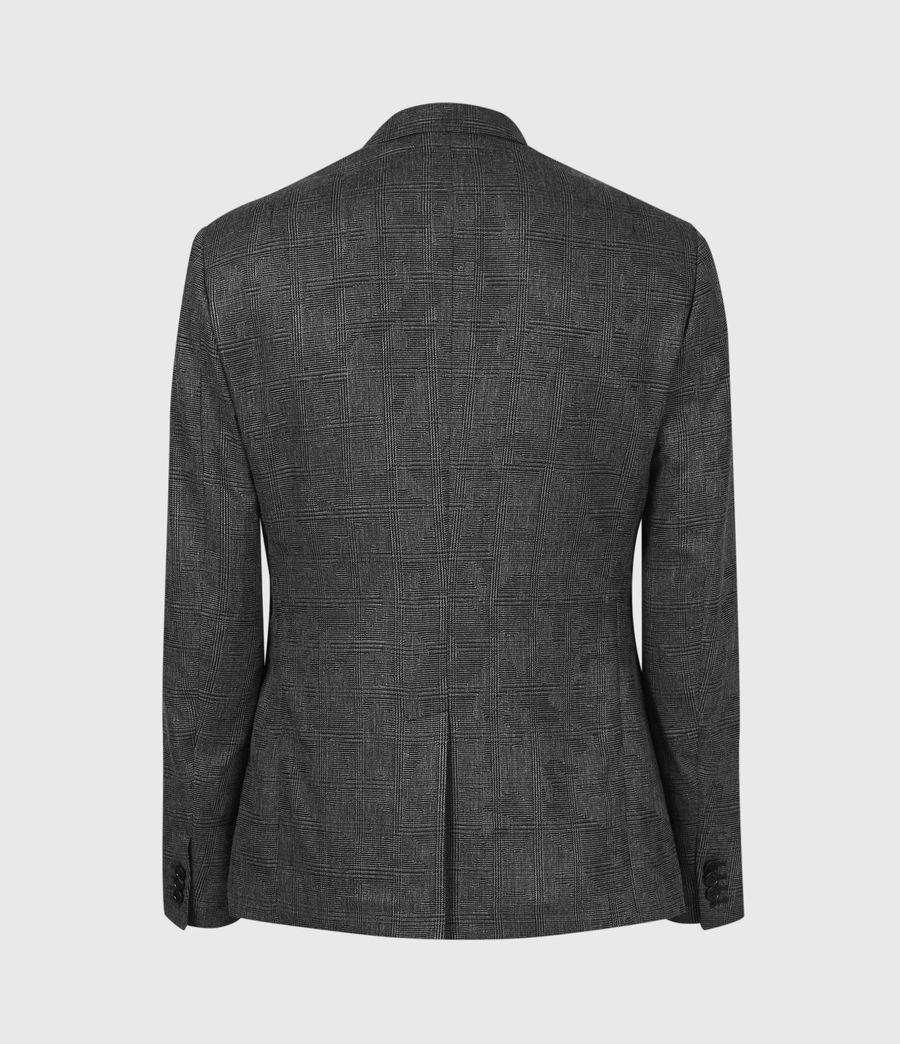 Men's Matos Wool Blend Blazer (grey_camo) - Image 3