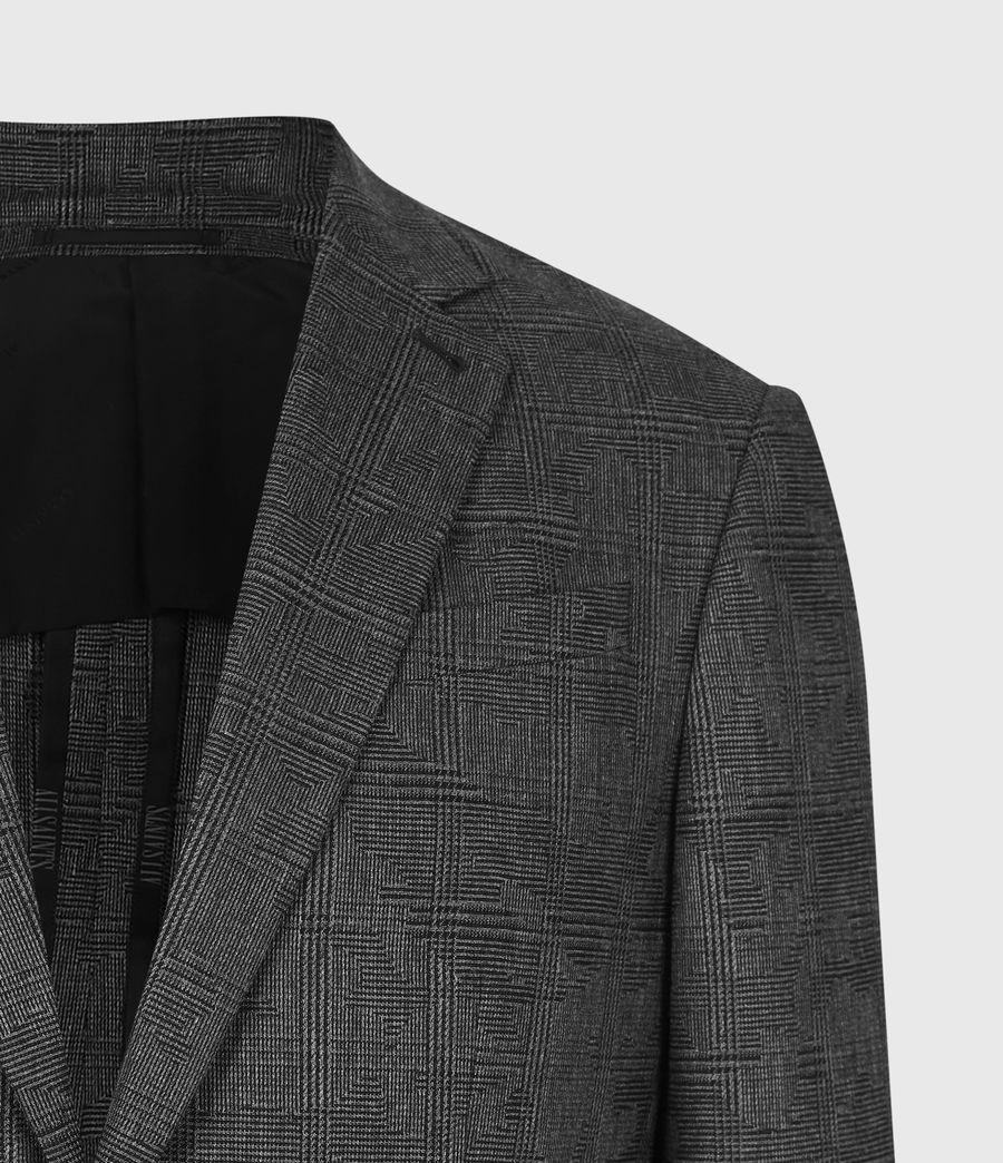 Men's Matos Wool Blend Blazer (grey_camo) - Image 5
