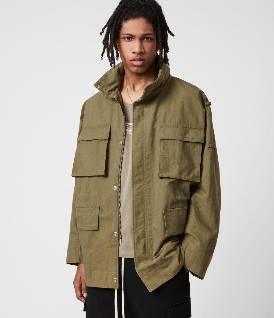 Herren Valby Oversized Jacke (khaki) - Image 1