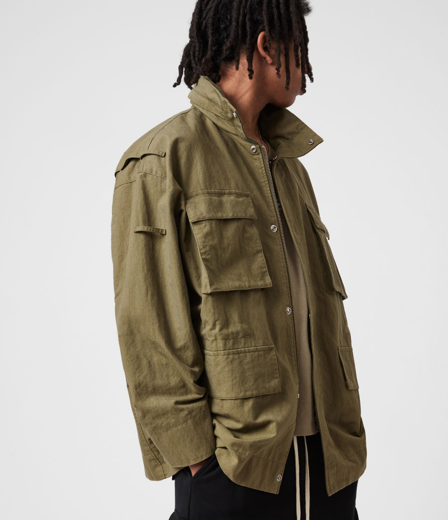 Herren Valby Oversized Jacke (khaki) - Image 10