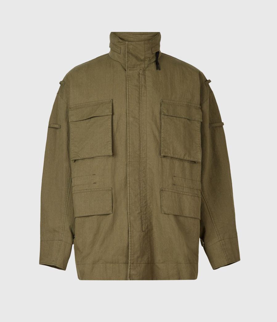 Herren Valby Oversized Jacke (khaki) - Image 2