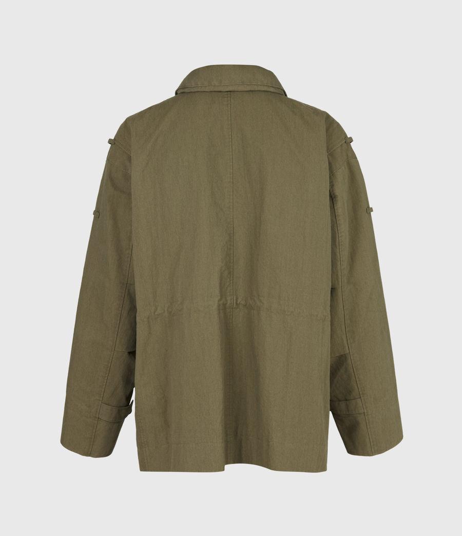 Herren Valby Oversized Jacke (khaki) - Image 3
