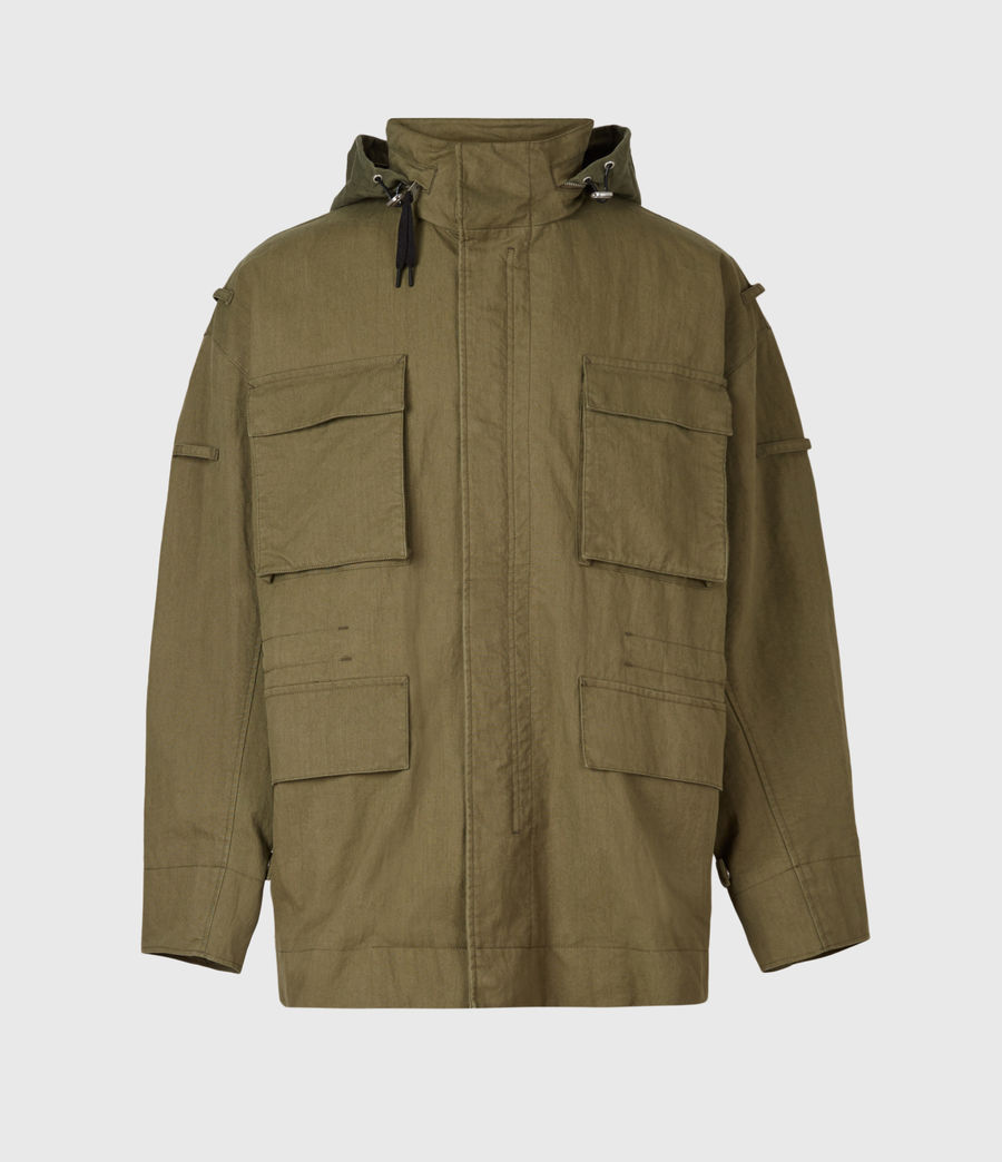 Herren Valby Oversized Jacke (khaki) - Image 5