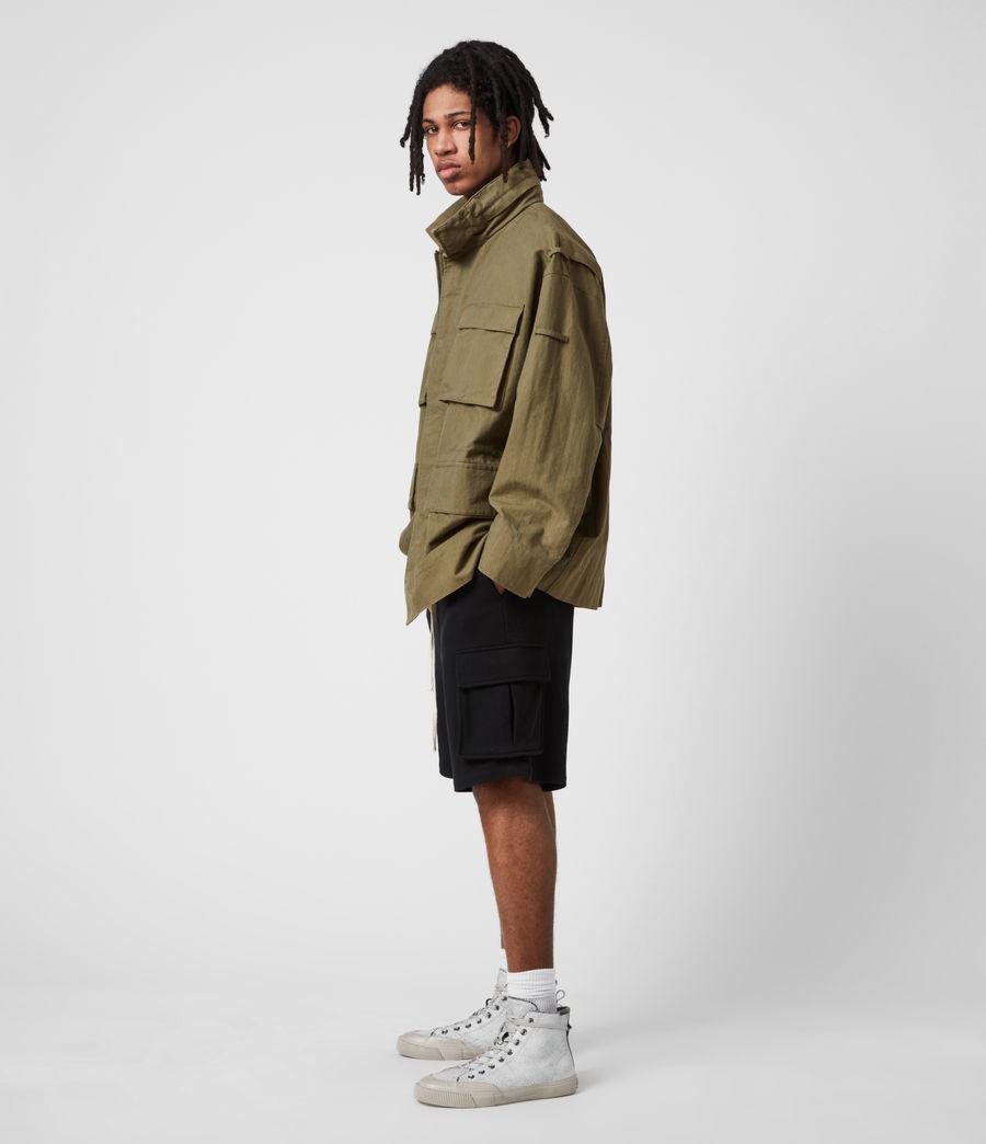 Herren Valby Oversized Jacke (khaki) - Image 6