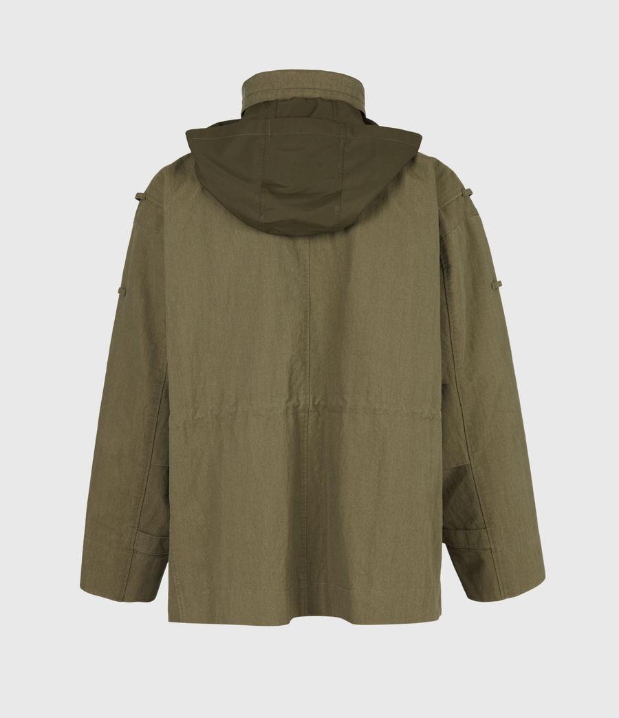 Herren Valby Oversized Jacke (khaki) - Image 7