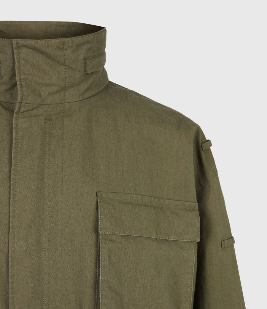 Herren Valby Oversized Jacke (khaki) - Image 8