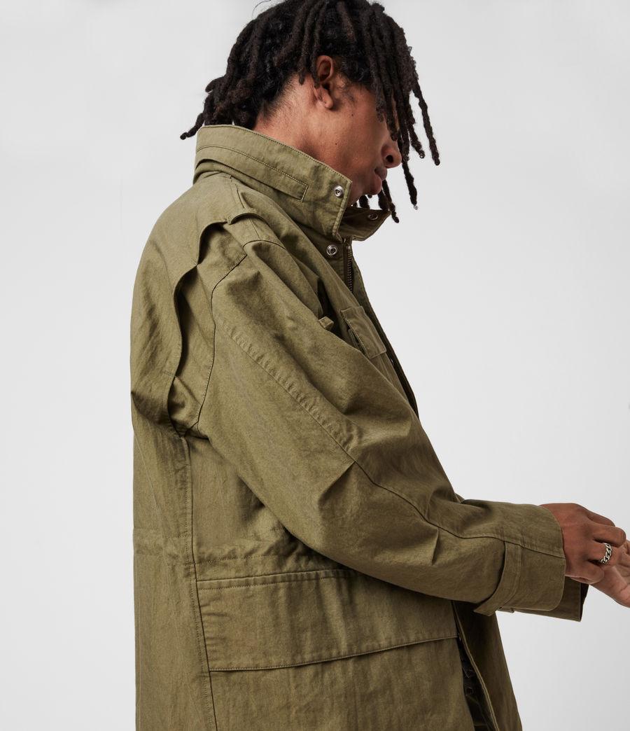 Herren Valby Oversized Jacke (khaki) - Image 9