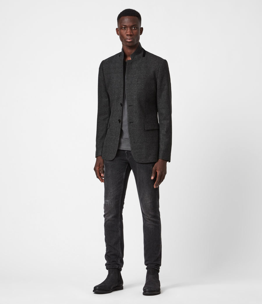Men's Cohen Blazer (charcoal) - Image 4