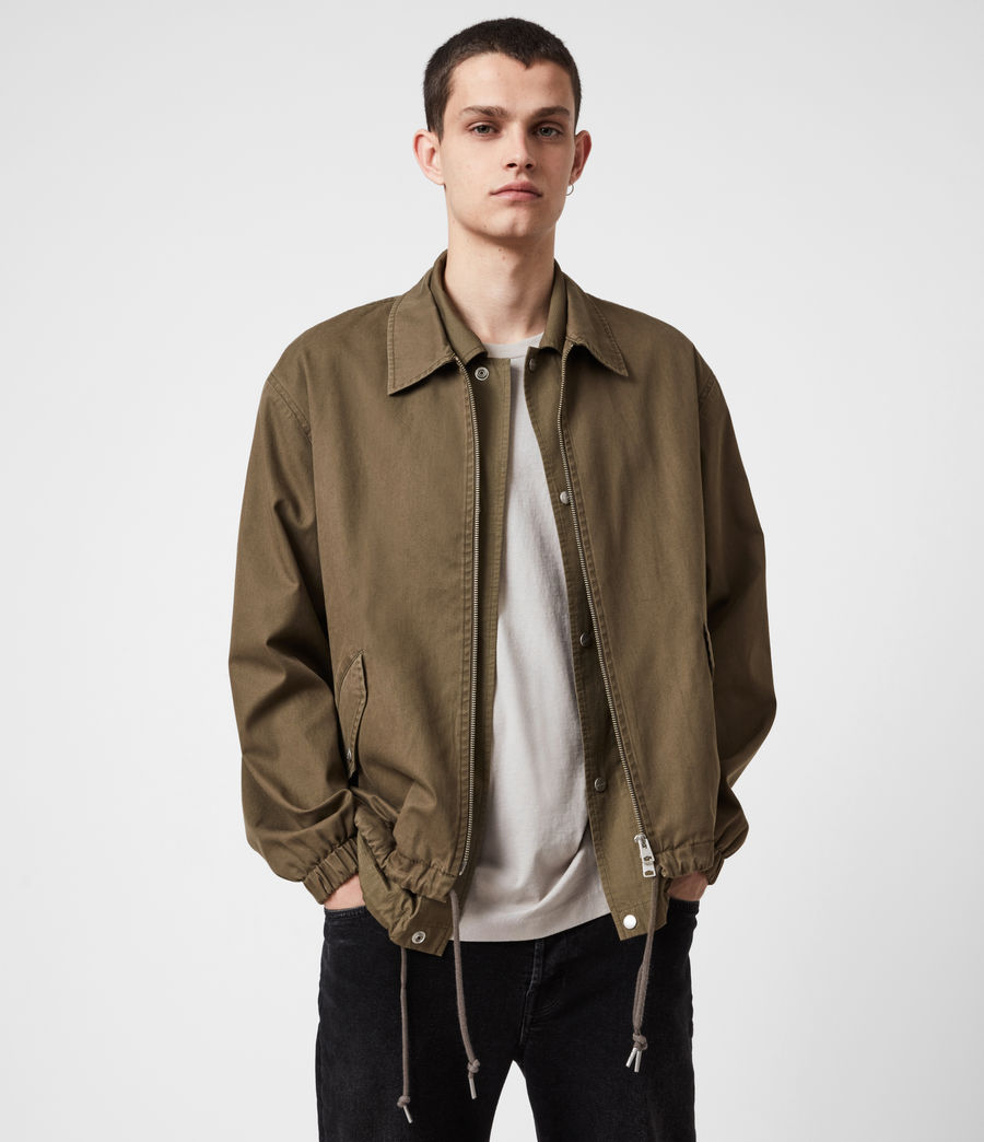 Herren Rudo Double Layer Jacket (khaki) - Image 1