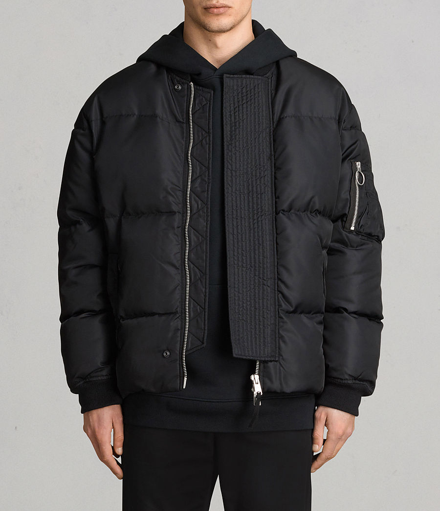 Men's Caisey Puffer Jacket (ink_navy) - Image 1