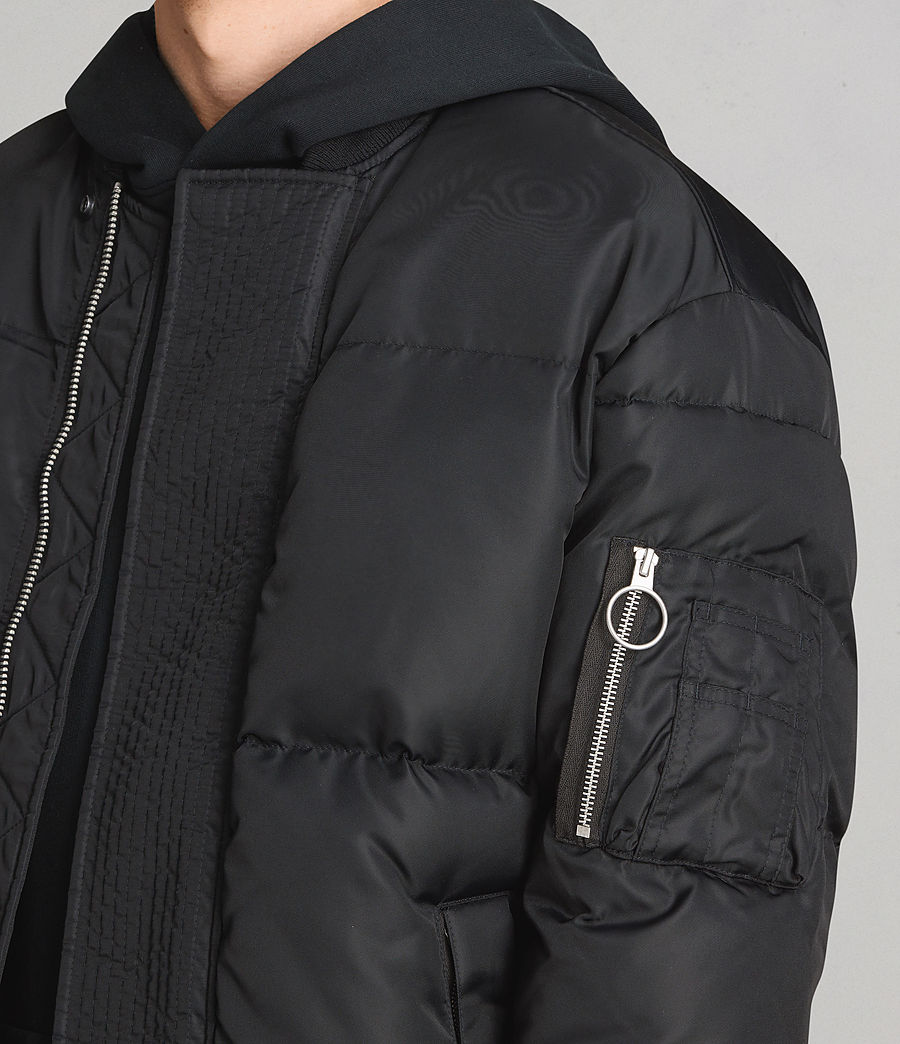 Men's Caisey Puffer Jacket (ink_navy) - Image 2