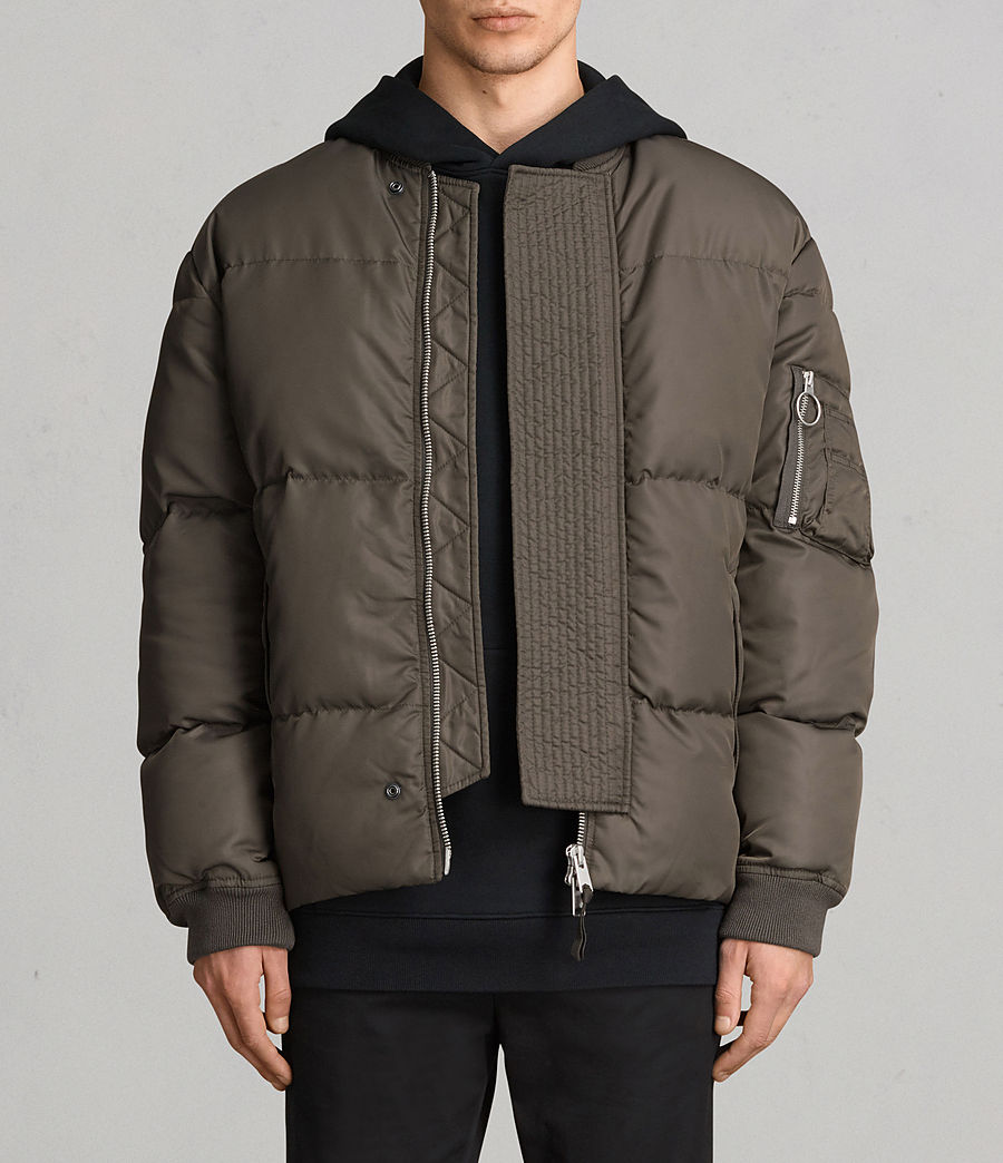 Men's Caisey Puffer Jacket (khaki_brown) - Image 1