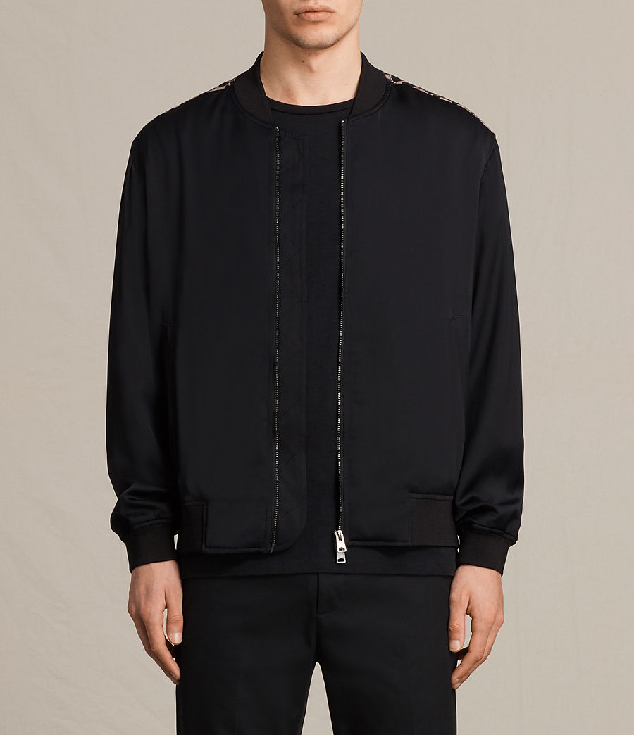 Men's Moy Bomber Jacket (black) - Image 1