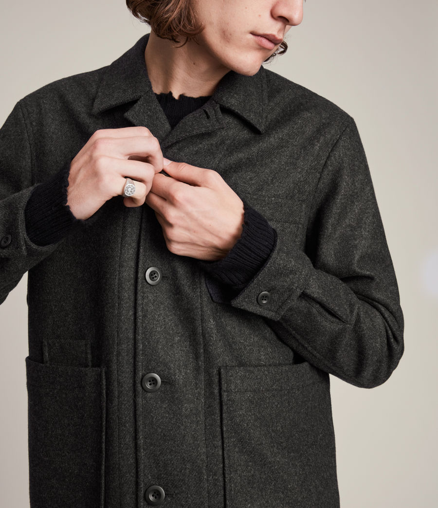 Men's York Jacket (charcoal) - Image 2