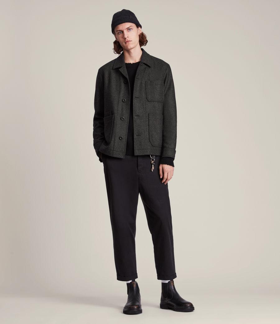 Men's York Jacket (charcoal) - Image 4