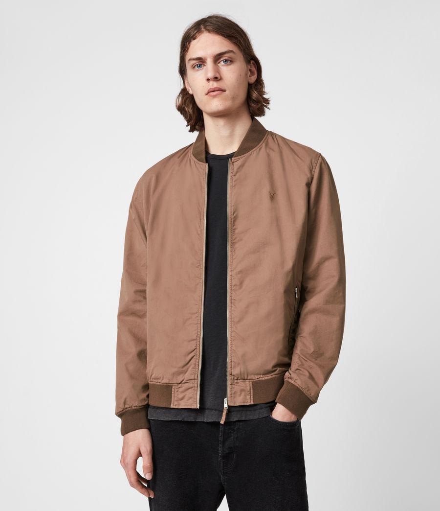 Men's Bassett Bomber Jacket (sandstone_pink) - Image 1