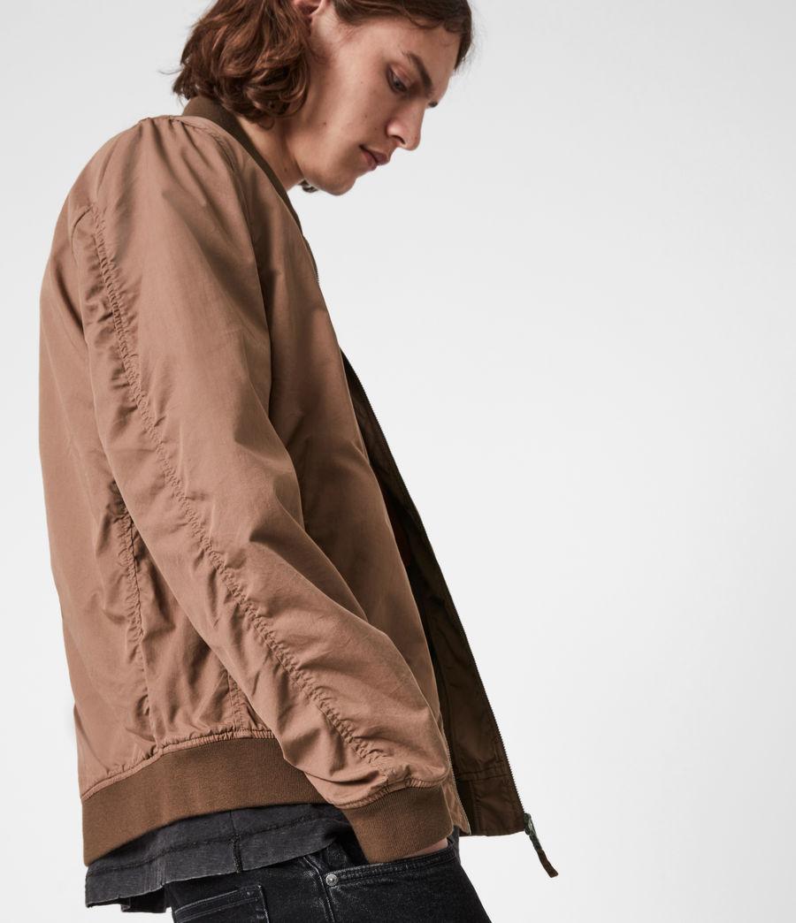 Men's Bassett Bomber Jacket (sandstone_pink) - Image 4