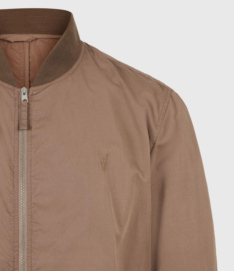 Men's Bassett Bomber Jacket (sandstone_pink) - Image 5