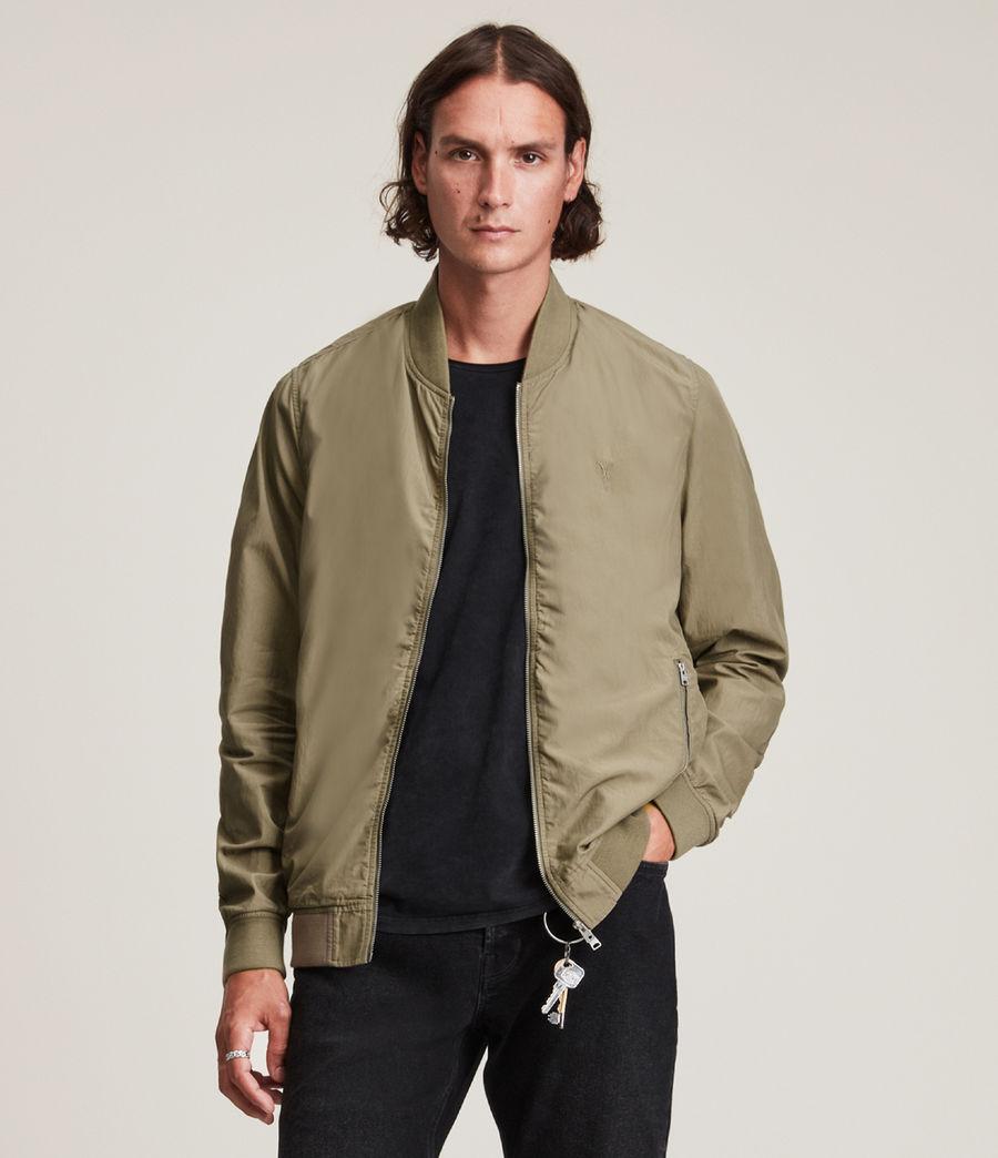 Herren Bassett Bomber Jacket (dusty_olive_green) - Image 1