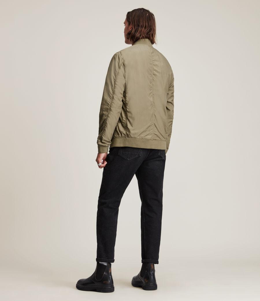 Herren Bassett Bomber Jacket (dusty_olive_green) - Image 4