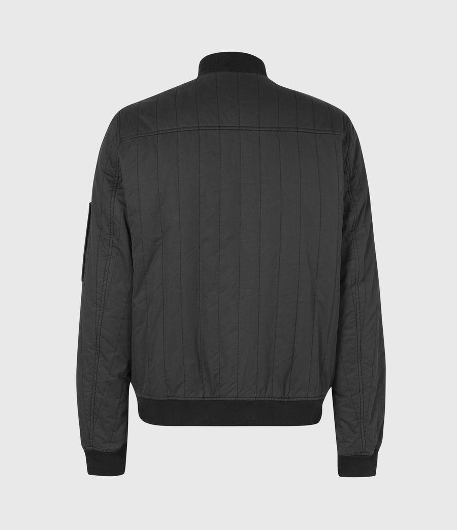 Mens Drake Bomber Jacket (black) - Image 3