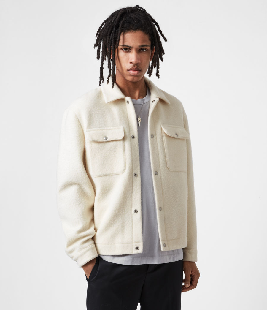 Men's Minard Jacket (ivory) - Image 1