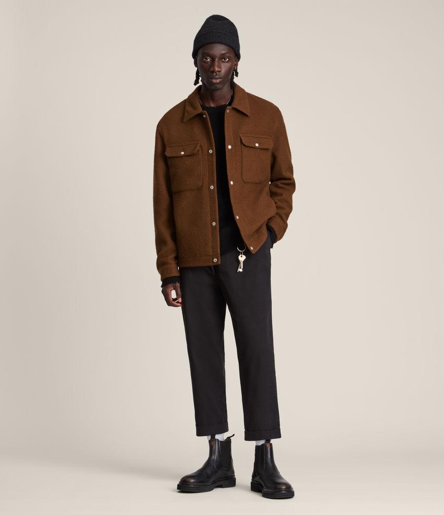 Mens Minard Jacket (brown) - Image 1