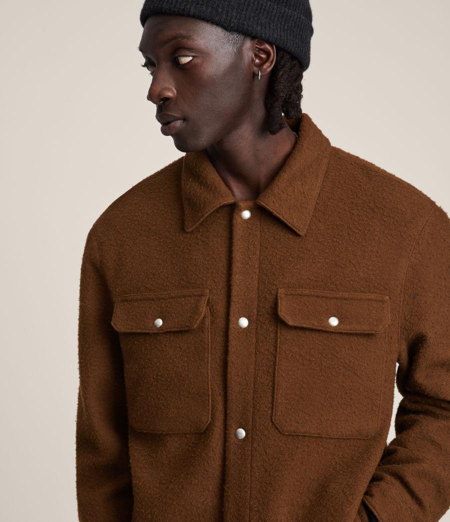 Mens Minard Jacket (brown) - Image 2