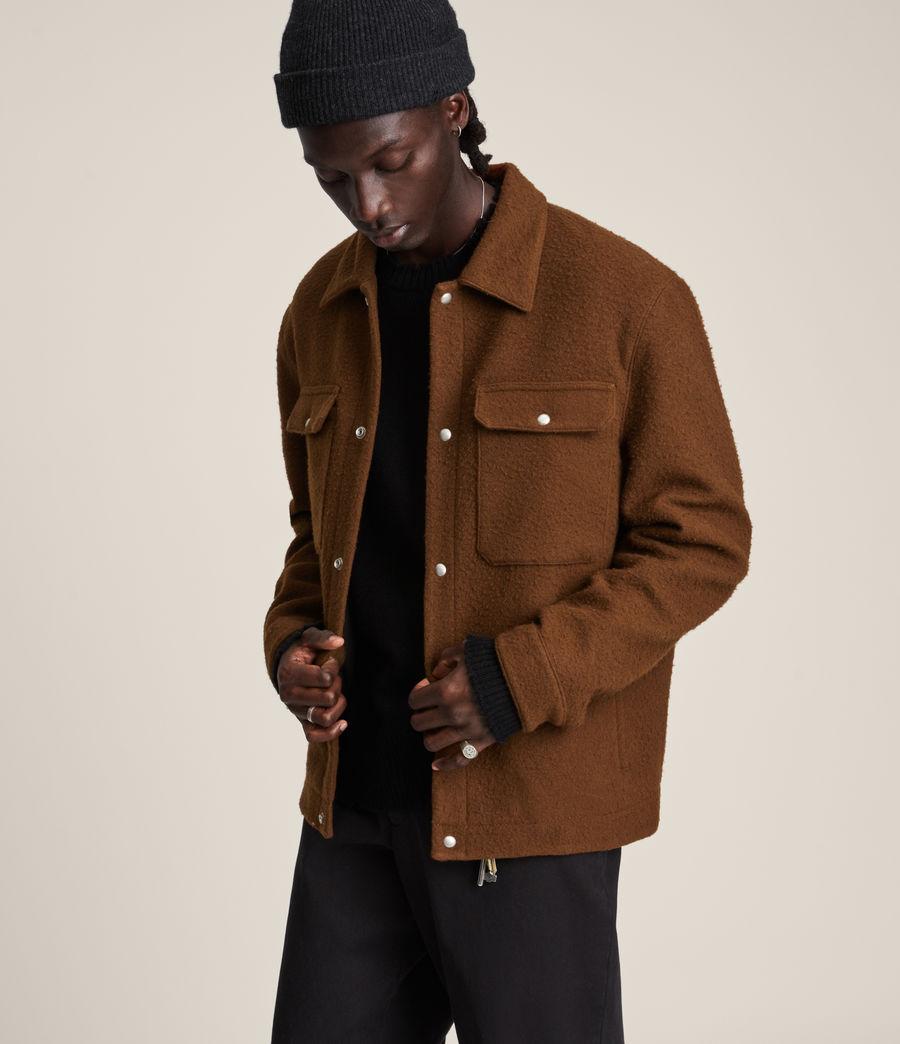 Mens Minard Jacket (brown) - Image 3