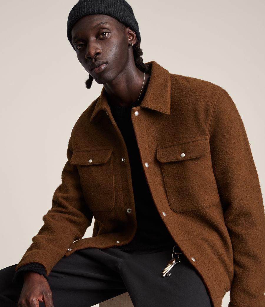 Mens Minard Jacket (brown) - Image 4