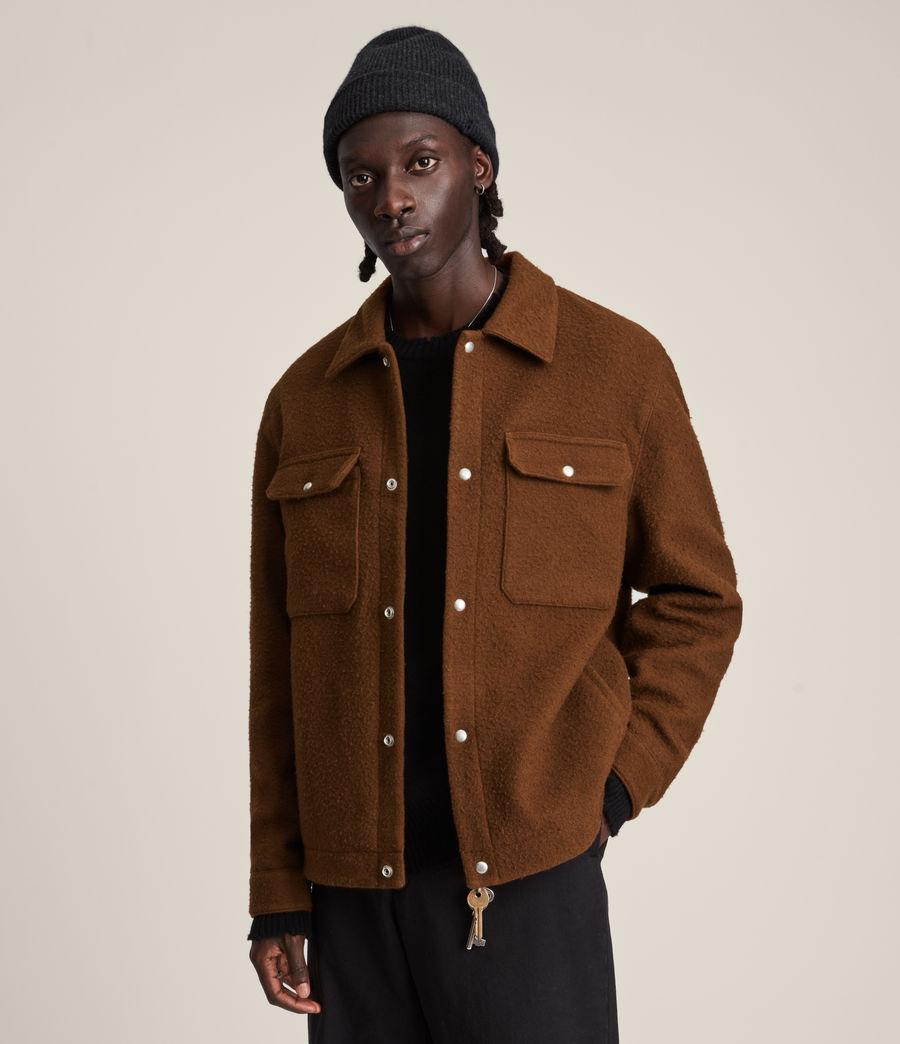 Mens Minard Jacket (brown) - Image 5