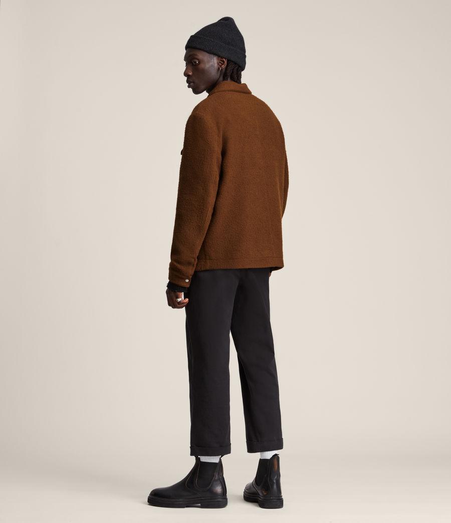 Mens Minard Jacket (brown) - Image 7