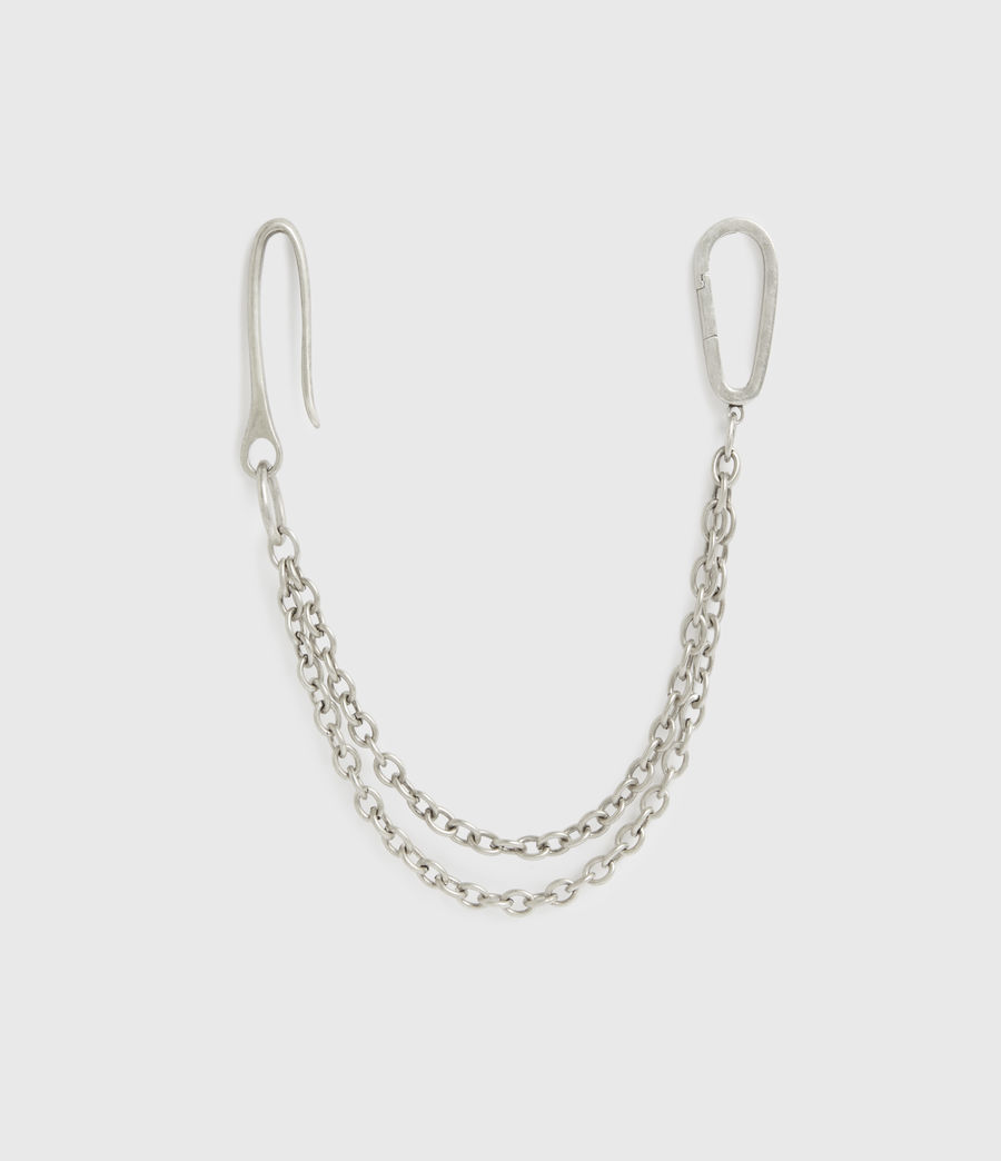 Men's Finley Belt Chain (warm_silver) - Image 2