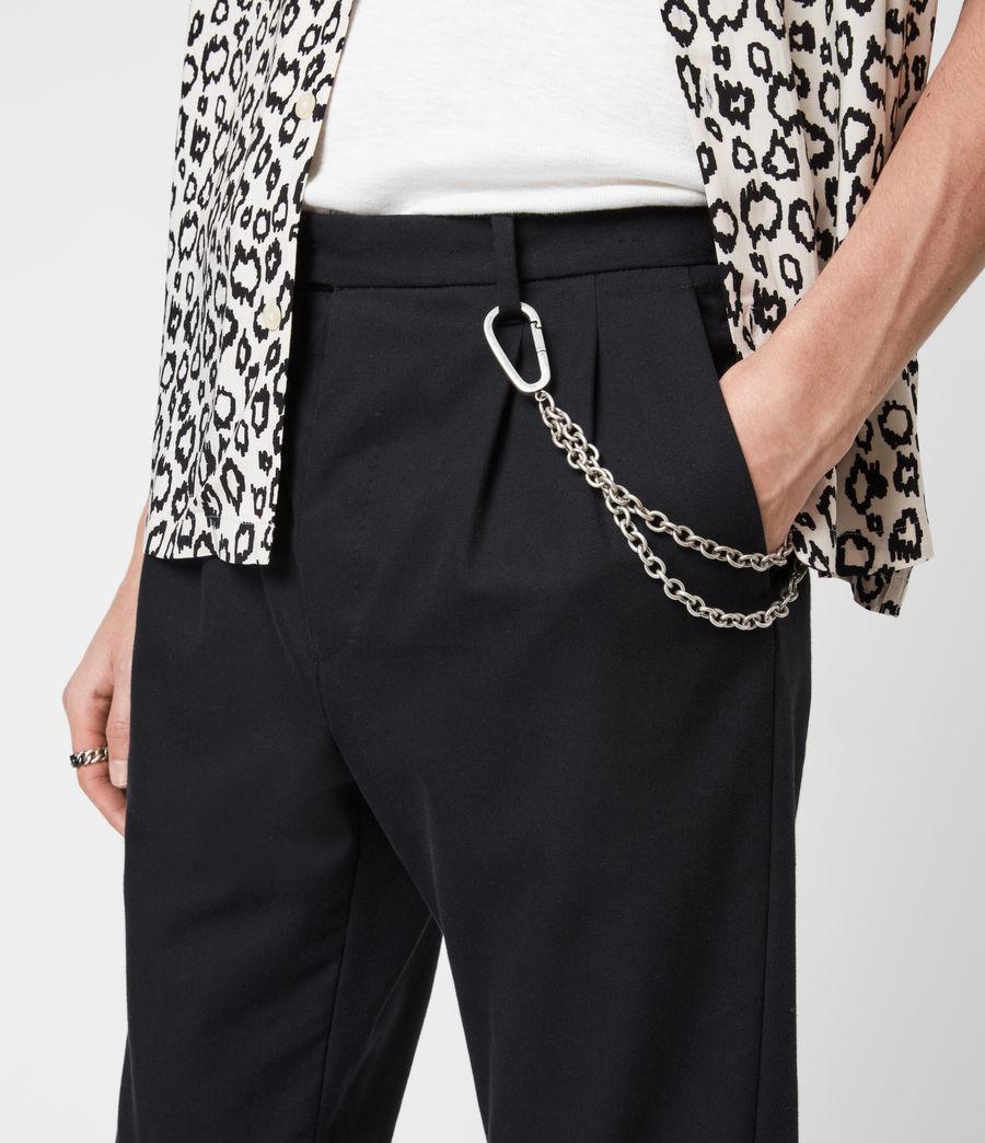 Men's Finley Belt Chain (warm_silver) - Image 4