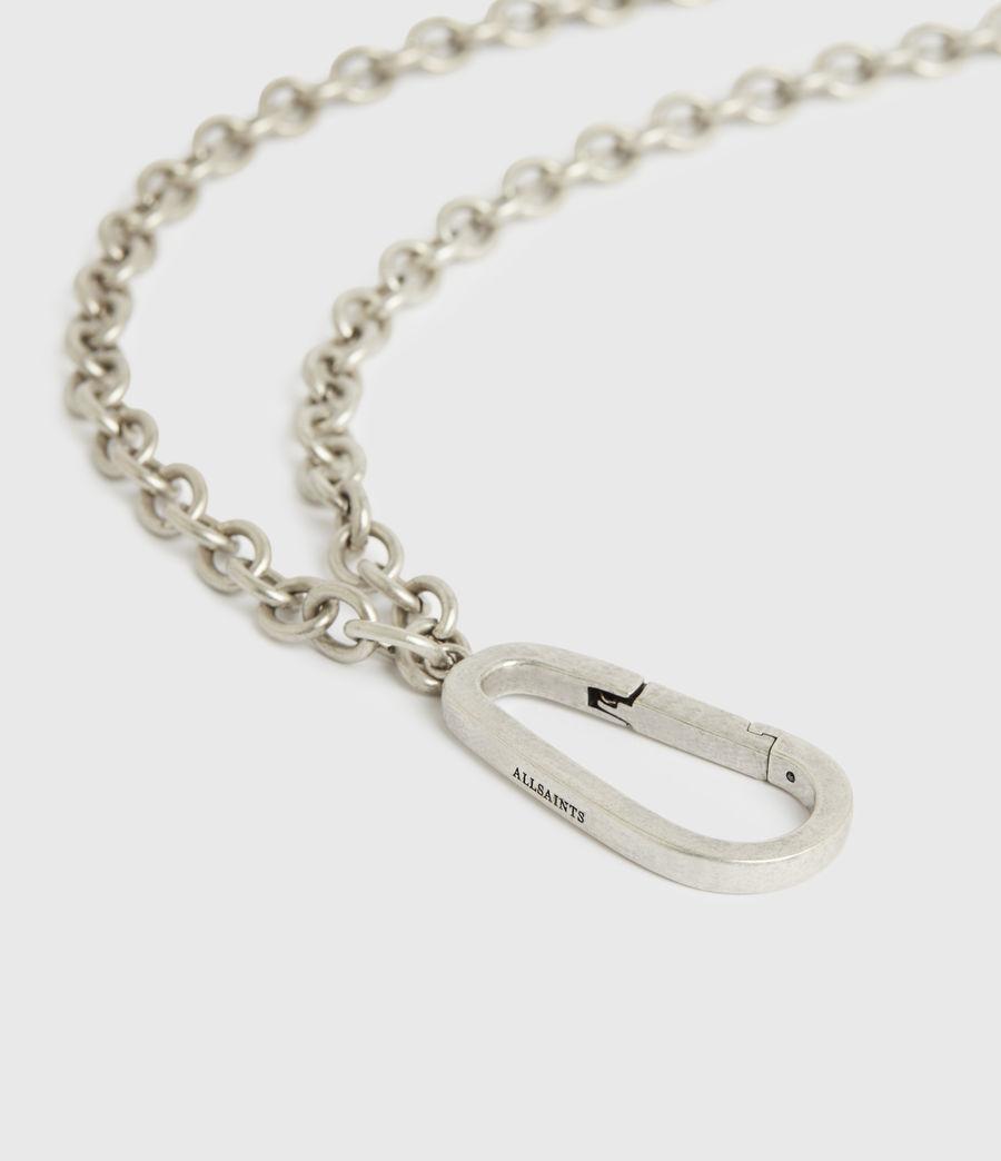Men's Finley Belt Chain (warm_silver) - Image 5