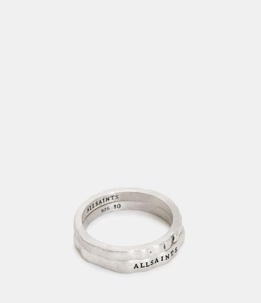 Herren Josh Ring Set (warm_silver) - Image 1