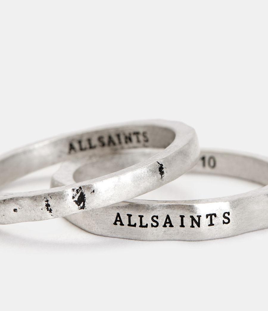 Herren Josh Ring Set (warm_silver) - Image 3
