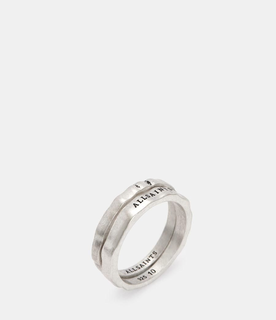 Herren Josh Ring Set (warm_silver) - Image 4