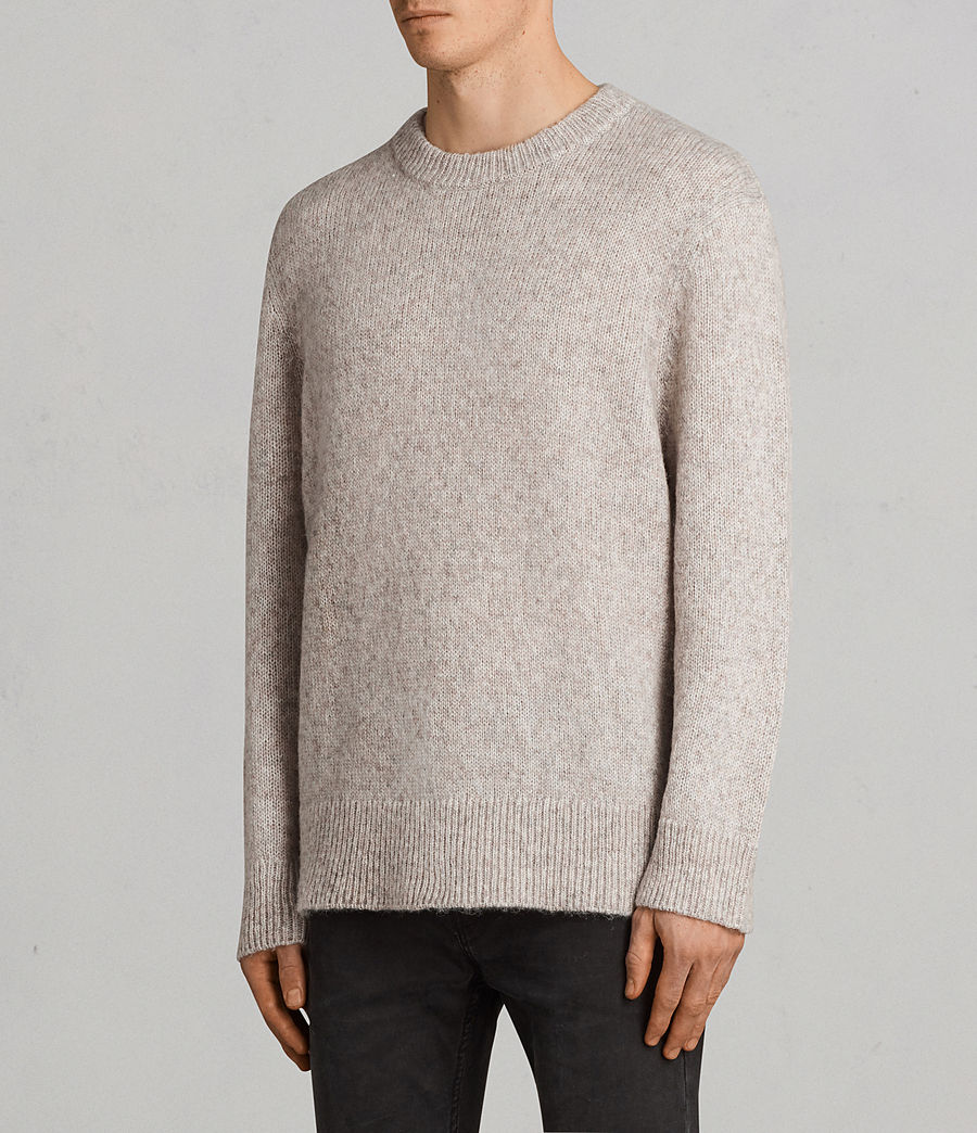 Hombre Jersey Harnden (taupe_marl) - Image 3