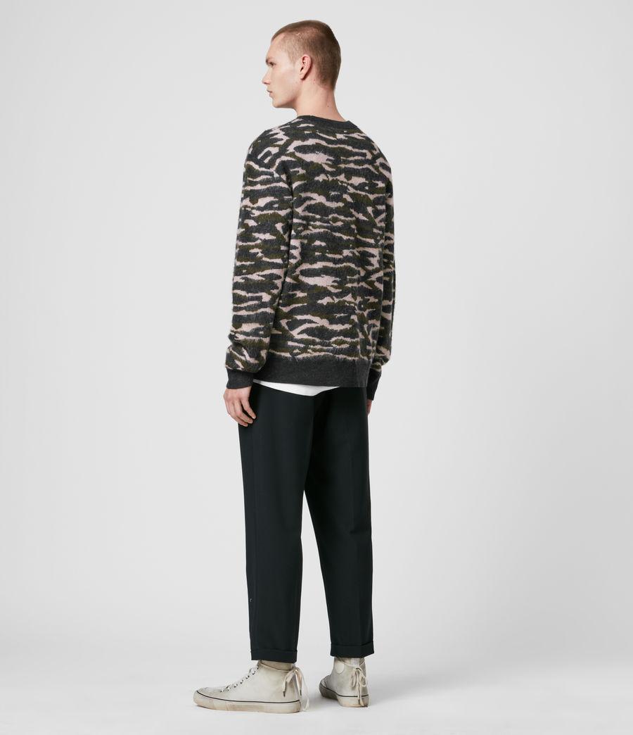 Hombre Kamo Crew Sweater (khaki_green_charcl) - Image 5